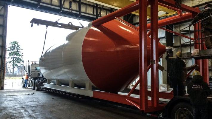 shop-built steel tanks