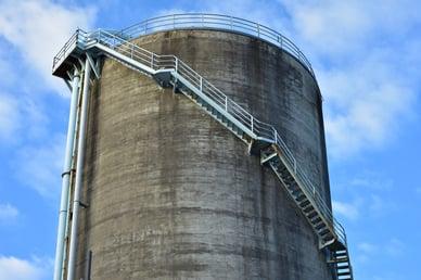 steel versus concrete storage tank