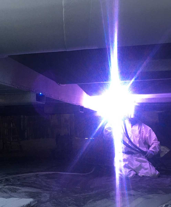 metalizing coating
